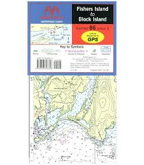 Maptech Fishers Island To Block Island Waterproof Chart