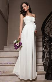 pregnant wedding dresses. Annabella Maternity Wedding Gown Ivory Maternity Wedding Dresses