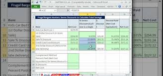 How To Calculate Total Savings In Excel Microsoft Office