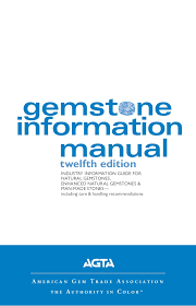 Complete Guide Gem Stone Information Manual Chart