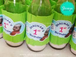 handmade return gifts shaunak s 1st birthday party