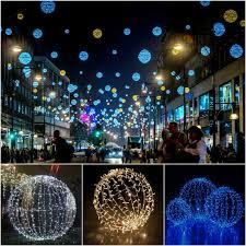Rust Christmas Lights Outside Led Lighted Christmas Folding Ball Sphere Lights Buy Outside Led Christmas Ball Lights Lighted Led Christmas Ball Lights Folding Light