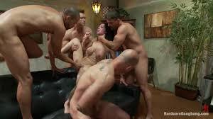 Big boobs mulf gang bang