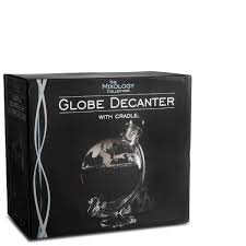 glass globe whisky decanter image 4