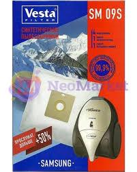 Купить <b>Мешки пылесборные Vesta</b> Filter SM 09 S в интернет ...