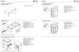 krystal executive office desk. Dimensions CRYSTAL Executive Desk Krystal Office R