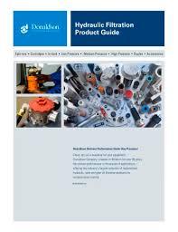 Hydraulic Filtration Donaldson Pdf Catalogs Technical
