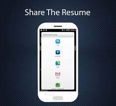 professional resume maker android apps on google play professional resume maker screenshot