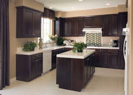 dark kitchen cabinets with light floors spacious cabinet layout ideas rectangular plain marble island countertop u shaped cabinet white wood cabinet home