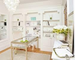 Mid-sized traditional freestanding desk medium tone wood floor and beige  floor home office idea