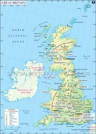 map of britain  maps of great britain  northern ireland map