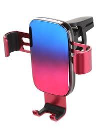 <b>Держатель</b> Baseus Glaze Gravity Car Mount Pink - Трансфер