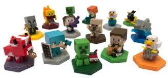 Замечательные <b>фигурки</b> Minecraft с поддержкой <b>NFC</b> от <b>Mattel</b>