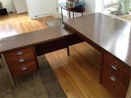mid century modern furniture austin. Mid-Century Modern L-shaped Desk; Available On The Market In Austin Mid Century Furniture