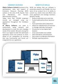 Wisynco Organizational Chart Hrplus Solution Overview 2018 2019 Pages 1 14 Text