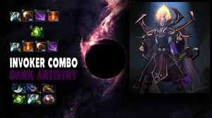 dota 2 invoker dark artistry combo youtube