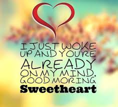 Quotes About Good Morning Love