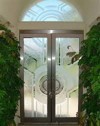sun odyssey glass entry doors with transom window contemporary entry