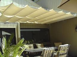 slide wire canopy kit. Fine Kit Beige Slide Wire Canopy Over Seating Area In Kit GoodwinCole