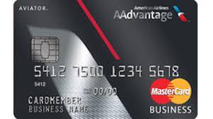Aadvantage Aviator Business Mastercard Credit Cards American