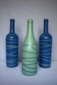 Decorative Wine Bottles Ideas Wine Bottle Crafts for DIY Decor Painted wine bottles 80