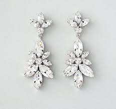 blush chandelier earrings wedding earrings chandelier bridal vintage pertaining to elegant rose gold blush chandelier earrings