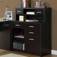 corner office desk hutch. Wood Office Furniture Glass Desk L Shaped Where . Corner Hutch N