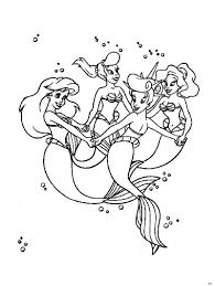 50 mẫu tranh tô màu nàng tiên cá xinh đẹp, dễ thương cho các bé gái - Wiki  BBBZ