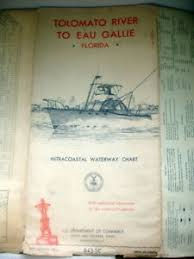 Intracoastal Waterway Mileage Chart Details About Vtg 1963 Intracoastal Waterway Charts Tolomato River To Eau Gallie Florida