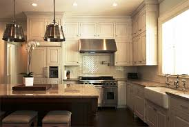 exposed lighting. Exposed Lighting. Kitchen: Kitchen With Pendant Lighting Over Island Blue Highlighted Modern Big Glass H