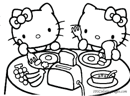 Coloring Pages Hello Kitty Coloring Sheets To Print Colouring
