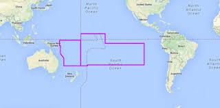 Mapmedia C Map Wide Vector Chart Wvjpcm204map South Pacific Islands