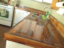polyurethane finish s paint seal wood wood kitchen countertops finish s paint seal wood around sink wide plank wood diy wood kitchen countertops