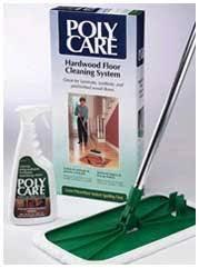 polycare hardwood floor cleaning kit