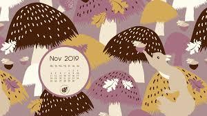 November 2019 free calendar wallpapers ...