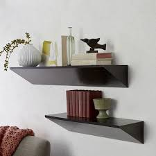 Wedge Floating Shelves Inspiration 32 Contemporary Floating Shelf Wall Display Designs For Your Home