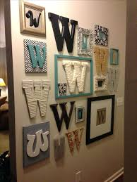 decor with letter wall decor letters decorating ideas mirrored intended for new house letters to decorate wall designs