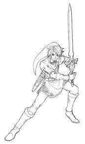 Coloriage 7 Dessin Zelda Dessins Pinterest Zelda Coloriage