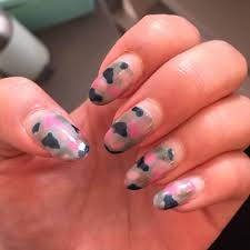 ChristabellNails Camo Nails Tutorial With Studs YouTube. Pink Camo ...