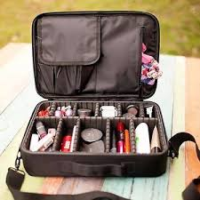 image is loading pro cosmetic bag makeup brush case storage toiletry