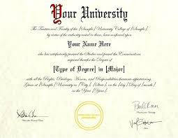 Fake Diploma Template D Degree Certificate Psd Helenamontana Info