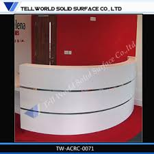 new design reception counter white reception counter for home office furniture china ce approved office furniture reception desk