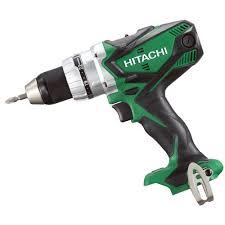 hitachi cordless drill. hitachi ds18dsdl/w4 18v li-ion drill driver - body only cordless