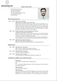 New Format Of Resume Latest Resume Format 2016 Hot Resume Format Trends