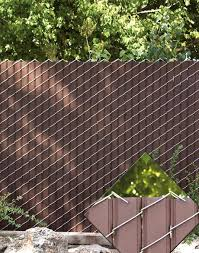 chain link fence slats brown. Chain Link Fence Privacy Ideas Best 25 Fencing On Cyclone Slats Brown H