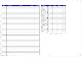 Tracker Spreadsheet Template Spending Spreadsheet Monthly Bill