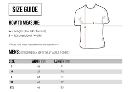 Stafford Shirt Size Guide Coolmine Community School