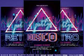 Disco Retro Party Flyer