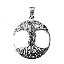 tree of life sterling silver pendant at mystic convergence metaphysical supplies metaphysical supplies