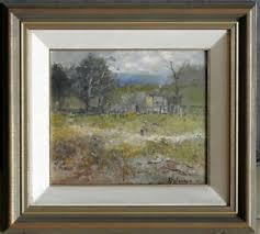 Lance Solomon (1913-89) Original Oil Painting Work the Garden ...